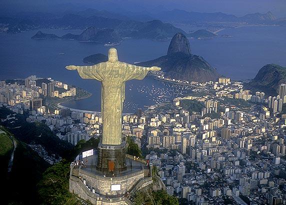 Christus de Verlosser op de Corcovado-berg
