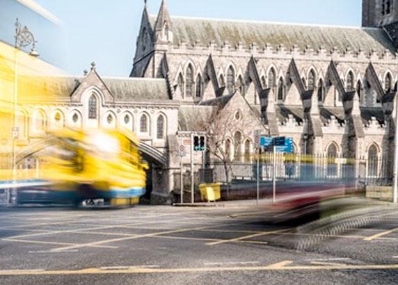 De straten van Dublin