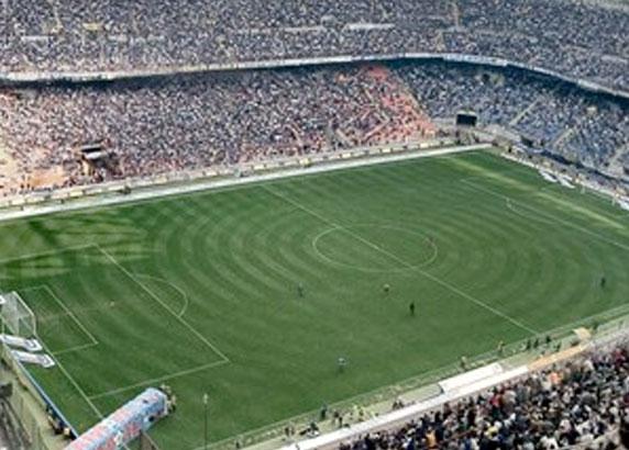Het legendarische San Siro stadion
