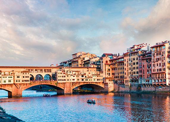 De rivier de Arno