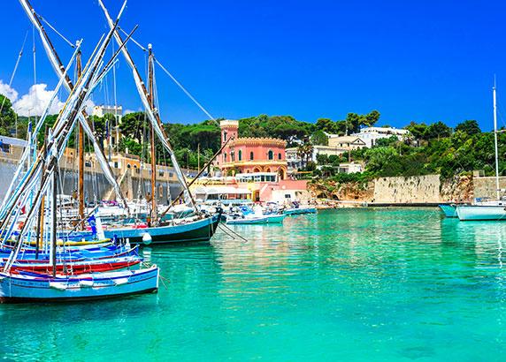 De adembenemende haven in Port'alga