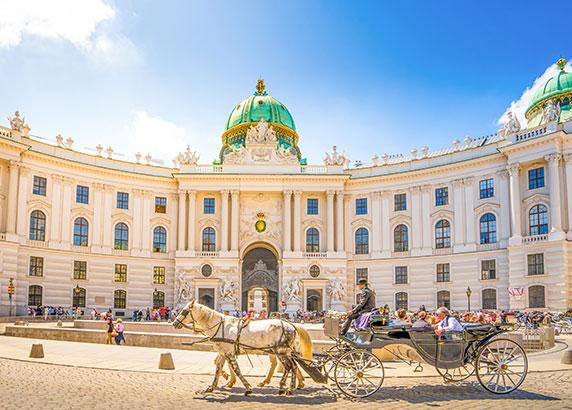 Het bekende Schönbrunn paleis