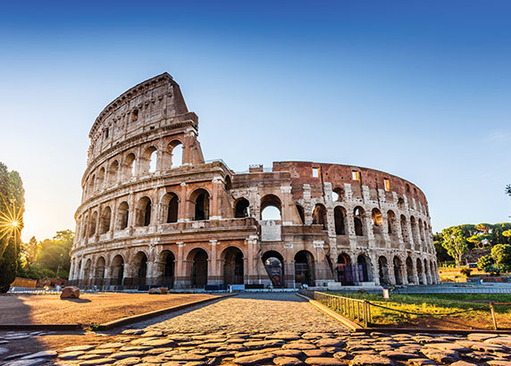Het indrukwekkende Colosseum
