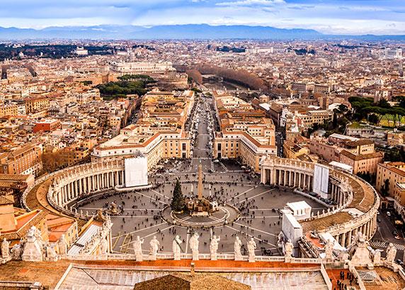 De kleinste staat ter wereld: Vaticaanstad